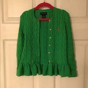 RALPH LAUREN girl's sweater
